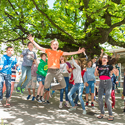 kastanjeboom-op-schoolplein